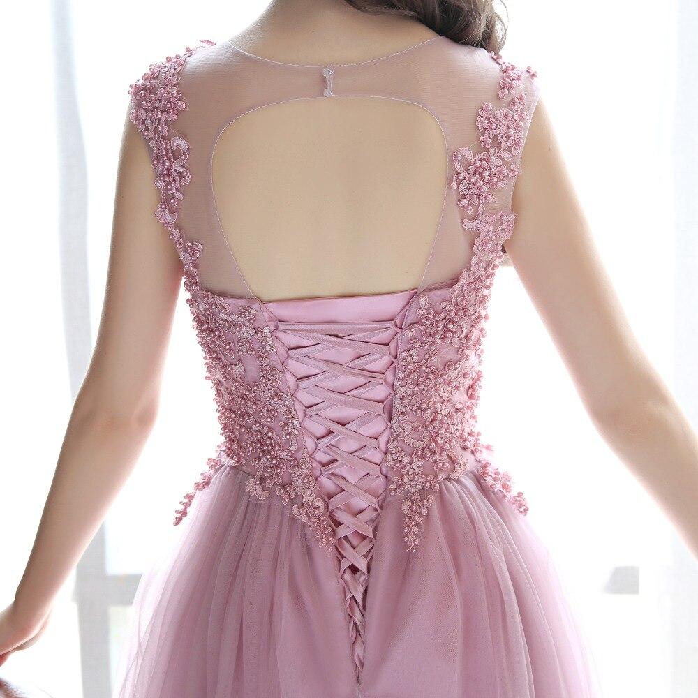 gaun malam gaun prom panjang 2018 parti gaun jubah de soiree vestidos - Gaun acara khas - Foto 6