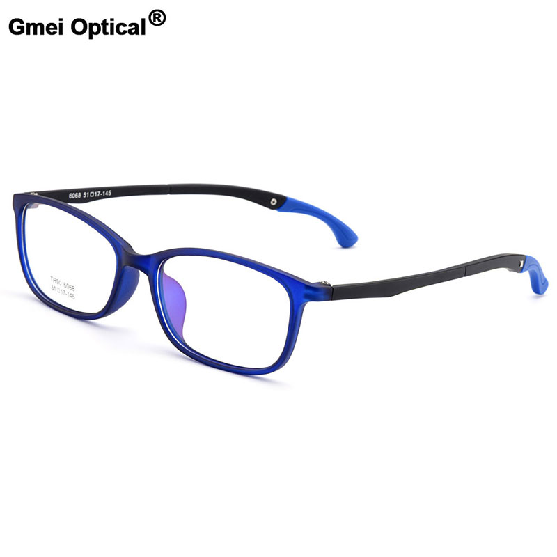 Gmei Optical Urltra-Light TR90 Students' Small Optical Eyeglasses Frames With Hangers Plastic Myopia Presbyopia Spectacles M6068