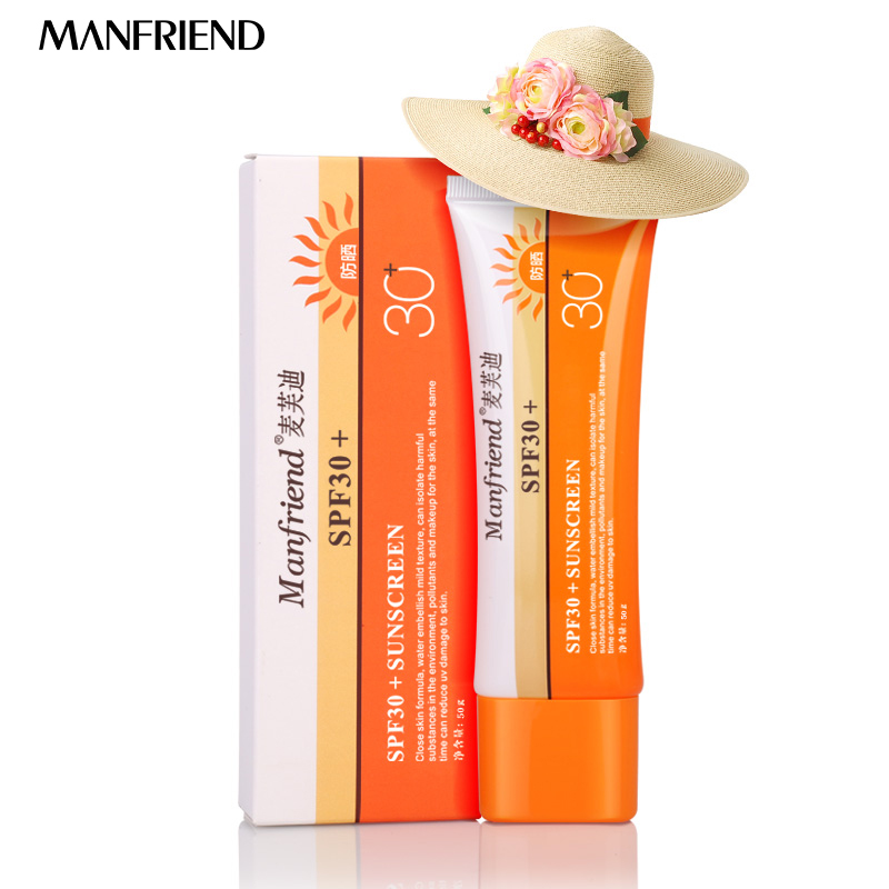 Skin Care Facial Sunscreen Cream SPF30+ Sunblock Body Sunscreen Concealer Lasting Sunscreen Summer Essentials Face Sunblock цены онлайн