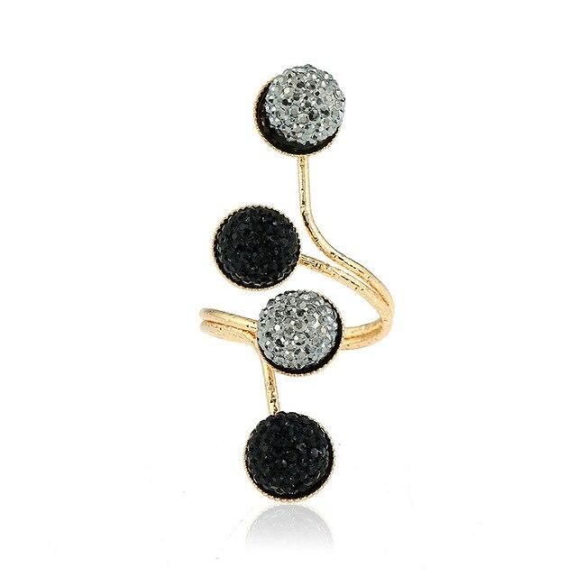 MISANANRYNE 2017 New Resin Geometric Shape Ring Wedding Party Female Finger Ring