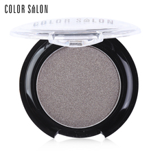 Color Salon Pro Diamond Eyeshadow Palette Pressed Powder Cake 2.7g Smooth Eye Shadow Makeup Rich in Colors Shimmer Luminous
