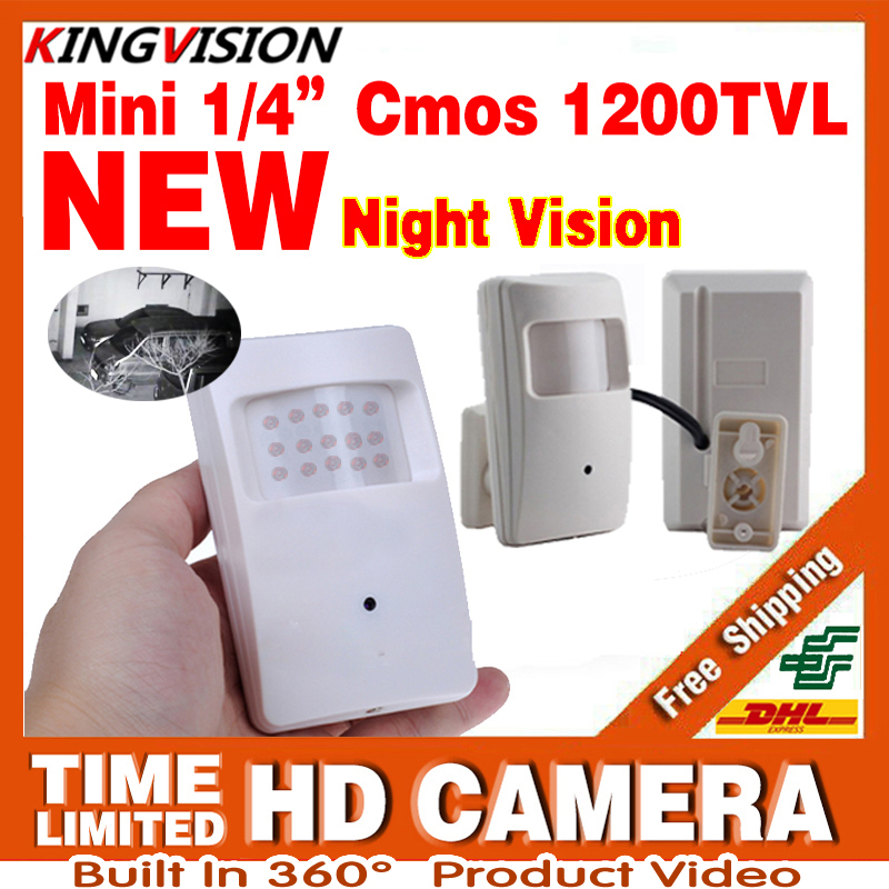 2017New Sonde Infrarouge Nuit Vision 15 m ahdl Caméra 1/3 CMOS 1200TVL 18led HD CCTV de Sécurité de Surveillance Vidéo Couleur 3.7mm Lentille