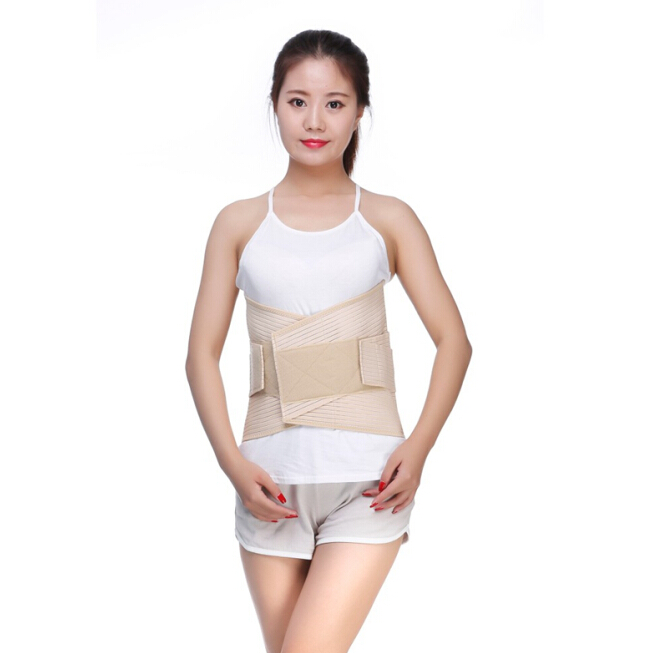 Free Shipping Medical Waist Brace Support Lumbar Protector For Lumbar Disc Herniation Muscle Degeneration Correct Brace Orthosis breathable medical waist support wrap brace belt lumbar disc herniation psoatic strain stainless steel rod