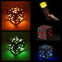 Party DIY Mining Theme Touch Light Night Lights Torch Ruby Diamond Mine LED Children's Birthday Party Gift Toys