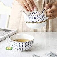Ceramic Teapot Set English Afternoon Tea Tea Bone China Coffee Cup European One Pot