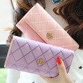 New European Fashion PU Leather Women Wallets Zipper Wallet Phone Pouch Female Purses designer wallet women luxury brand 2016