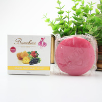 3pcs Bumebime Handmade Soap White Natural Soaps Skin Whitening Bath And Body Works Fruit Essential Oil