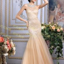 SexeMara 2016 vestidos luxury crystal formal prom dresses