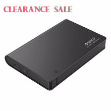 Clearance Sale 2.5 Inch USB3.0 to SATA 3.0 HDD Enclosure Tool Free Type-C HDD Case Hard Disk Box for 9.5mm 12.5mm Hard Drive