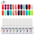 Saviland 1 unids Nueva Moda 15 ml Gelpolish 58 Color de Laca de uñas de Gel de Alta Calidad empapa de UV Gel Vernish polaco