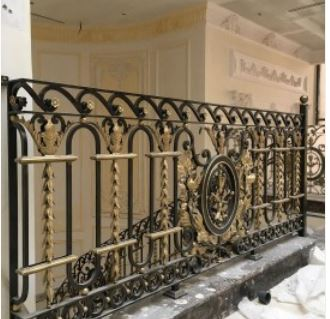 Wrought Iron Deck Railing Balustrade Systems Rod Iron Railing For   Iron Handrails For Steps   Hand   Iron Railing   Iron Picket   Craftsman Style   Double Storey House