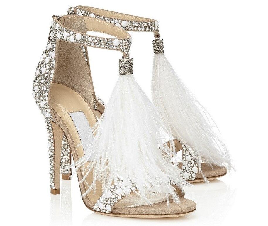 Woman Stiletto Sandals New Hot Sale Bridal Wedding Shoes