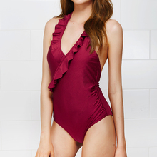 One piece Brazilian Push Up Swimwear