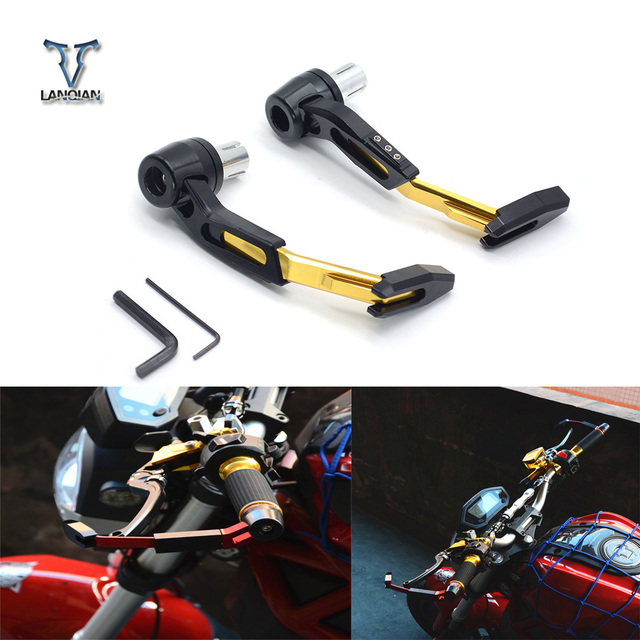 Universel 22mm moto Motocross guidon embrayage frein levier protéger garde pour Ducati 796 MONSTER 696 MONSTER 999/S/R 749