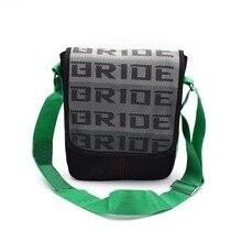 c2c8b3b5e4d JDM Style Bride Men s Messenger Bags Canvas Shoulder Bag Fashion Business  Crossbody Bag With Racing Harness