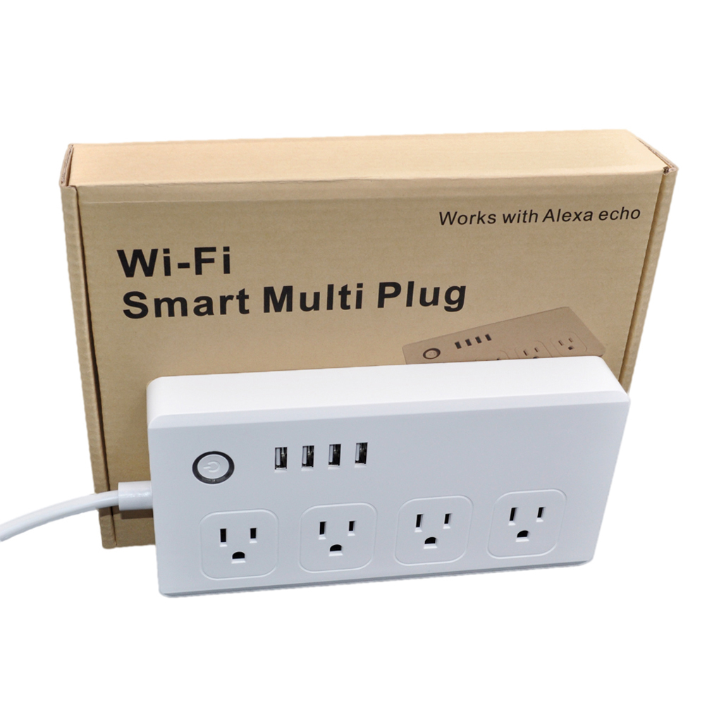Sm S0301 Us Multi Plug Power Socket Outlet Ac110v 240v Wireless How To Put In A Smart Wifi Works With Alexa Electrical Sockets From Home Improvement On