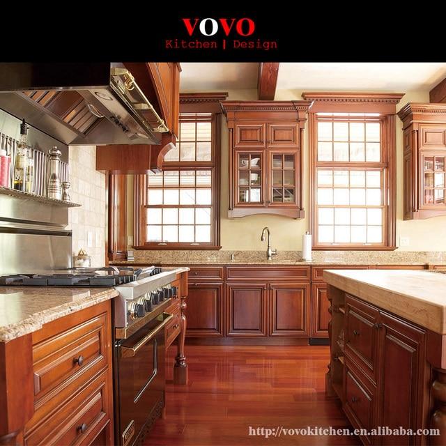 Granit backsplash küche mit massivholz tür und glastür in Granit ...