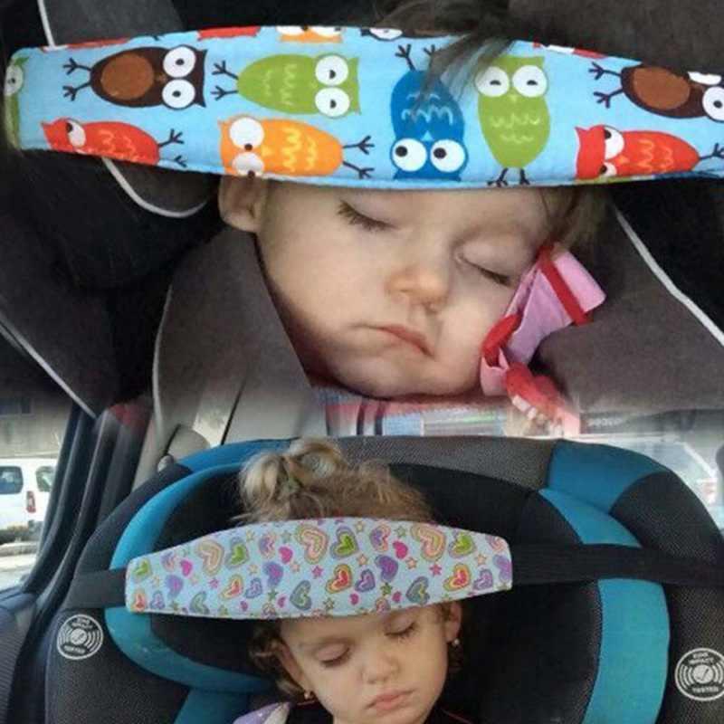 Cochecito de bebé asiento de seguridad de dormir la siesta banda de la cabeza de los niños la protección de la cabeza del bebé silla reposacabezas coche durmiendo soporte cinturón