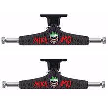 """Royal 2 pièces noir Skateboard camions 5.25 """"moyen creux camion Skate board pont pour Skate Deck aluminium planche à roulettes support"""