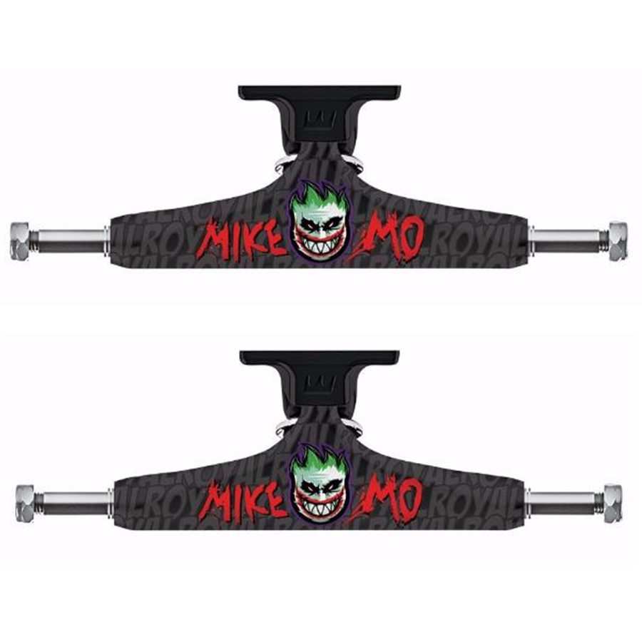 Royal 2PCS Black Skateboard Trucks 5.25