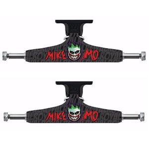 """Image 1 - Royal 2PCS Black Skateboard Trucks 5.25"""" Middle Hollow Truck Skate board Bridge for Skate Deck Aluminum Skateboard Bracket"""
