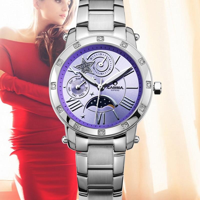 Reloj Mujer 2016 Direct Selling CASIMA Brands Women s Dress Wrist Watches Ladies Quartz Bracelet Waterproof