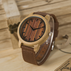 Image 5 - BOBO BIRD WD10 Mens Luxury Top Brand Design Watch Men Wood Wristwatches Designer Watches Luxury Bamboo Watch Gift Box Accept OEM