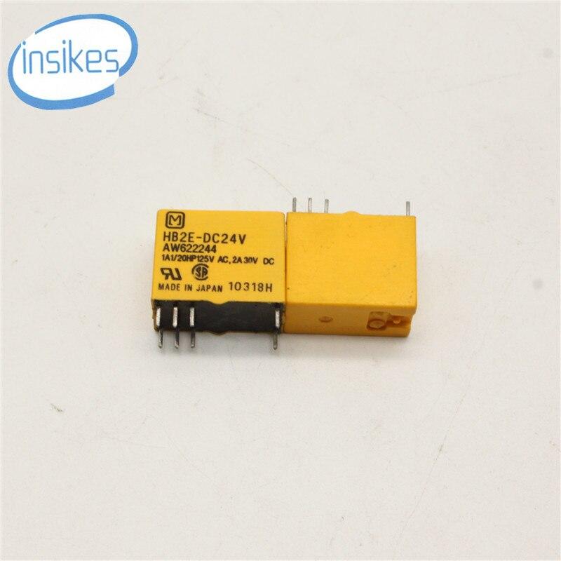 10PCS/LOT HB2E-DC24V Relay