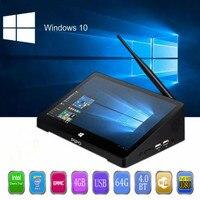 Pipo X10 Pro мини ПК Windows 10 и Andriod 5,1 мини ПК Intel Cherry Trail Z8350 4G 6 4G 10,8 дюймов планшетный ПК 2.4g WiFi медиаплеер