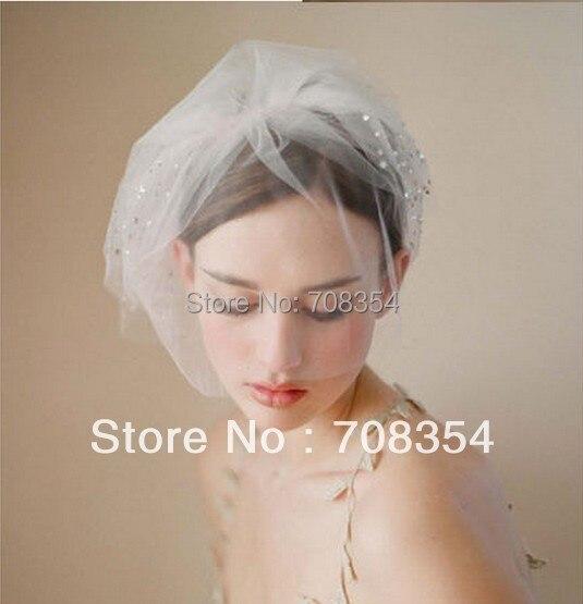 Свадебные Аксессуары ~ ~ многослойные Блестящий Австрия Бурения Свадебные Hat/Фото Реквизит 640
