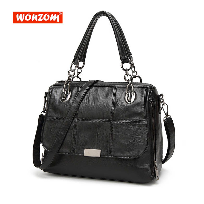 купить WONZOM Women Messenger Shoulder Bags Tassel Handbag Female Bag High Quality Women PU Leather Ladies Bags Small Bags For Women по цене 1557.14 рублей