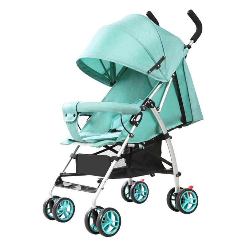 Детские коляски подходит для сезон: весна–лето складная дорожная зонтик коляска легко положить в самолет и поезд
