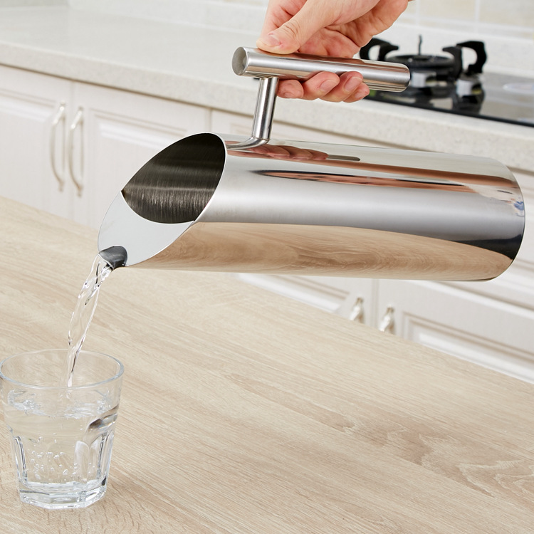 Stainless Steel Pitcher Pot for Bar Hotel KTV Restaurant Fantastic Kitchen Cold Water Wine Juice Bottle Pot