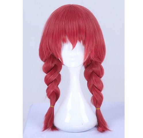 Japanese Anime Blend S Esu Miu Amano Red Cosplay Straight Hair Wig Role Play Halloween