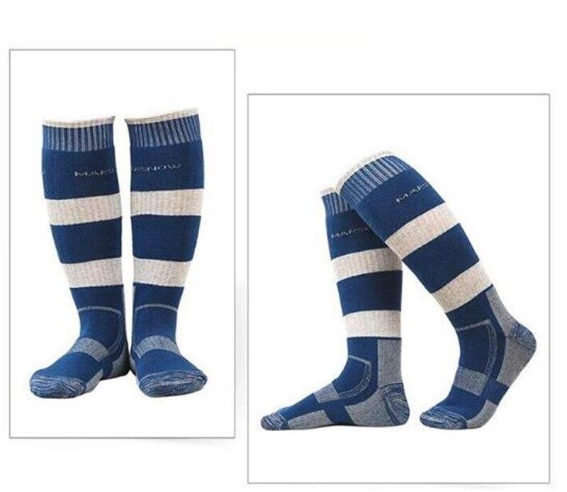 Marsnow 1 Pair Winter Thermal Ski Socks Cotton Sport Snowboard Cycling Socks Thermosocks Leg Warmers For Men Women