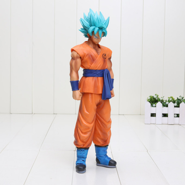 25 cm Dragon Ball Z Ressurreição F Deus Super Saiyajin Goku PVC action Figure toy Figura Bola Dragão