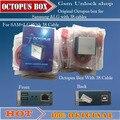 Vendedora superior Completa activado Octopus Box + 38 en 1 Cable Completo juego para lg y para samsung para liberar y flashear y reparación envío gratis
