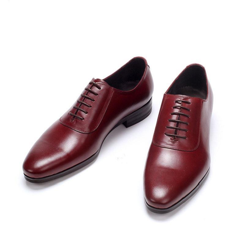 Elevador vino Los Goma Oxford Cuero Hombres Tinto Negro Zapatos Mycolen Diseñador Herenschoenen Hombre Marca blue De Lujo Vestir tqHwF7FZn