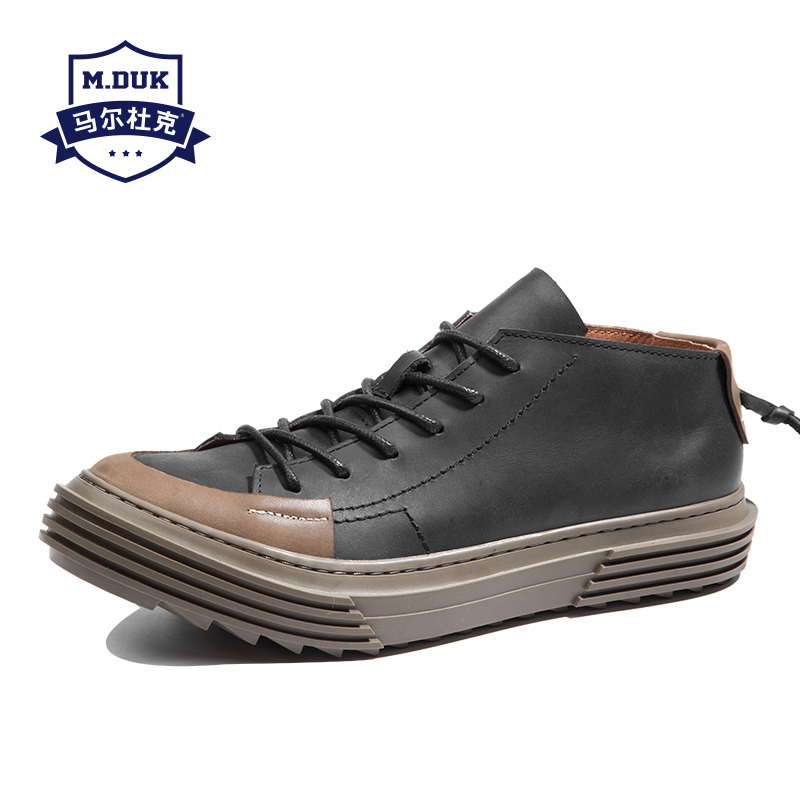 spring autumn summer Men's Genuine Leather shoes all-match cowhide men breathable sneaker fashion boots men casual shoes Leisure genuine leather men s leisure shoes spring summer all match cowhide soft bottom breathable sneaker fashion men casual shoes male