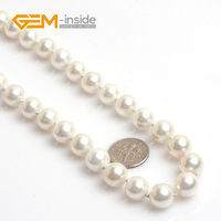 Free Shipping White Freshwater Pearls Beads Necklace New Styles Fashion Jewelry Elegant Necklace For Women Christmas