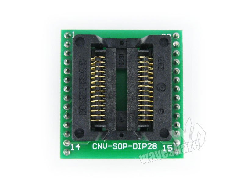 SOP28 TO DIP28 (A) IC Test Socket Programming Adapter for SOP28 SO28 SOIC28 Free Shipping hammer prt 1100 le premium