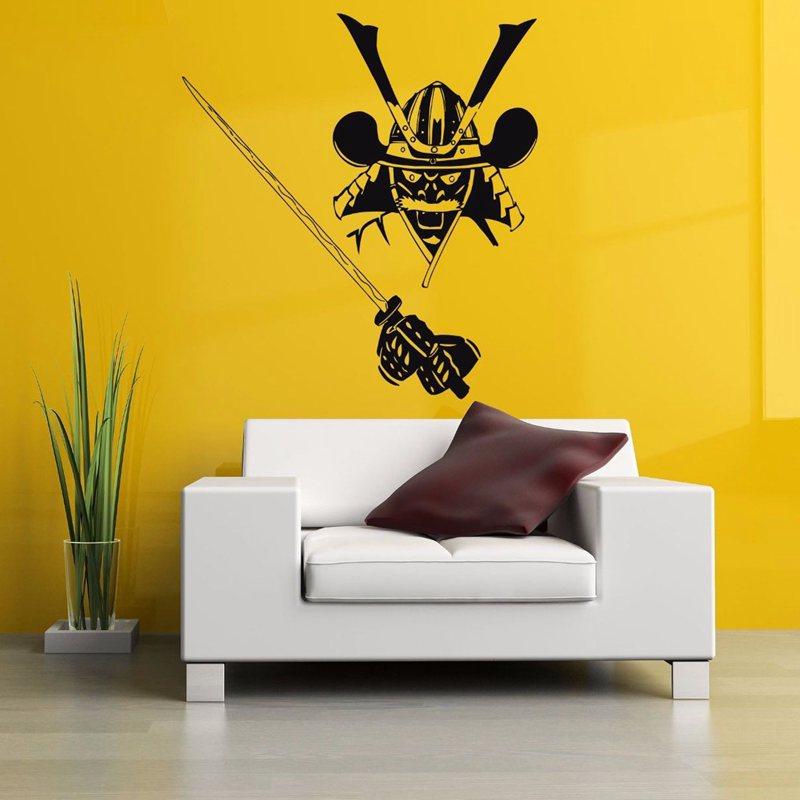 ᗗDCTAL Kendo Sticker Samurai Decal Japan Ninja Poster Vinyl Art ...