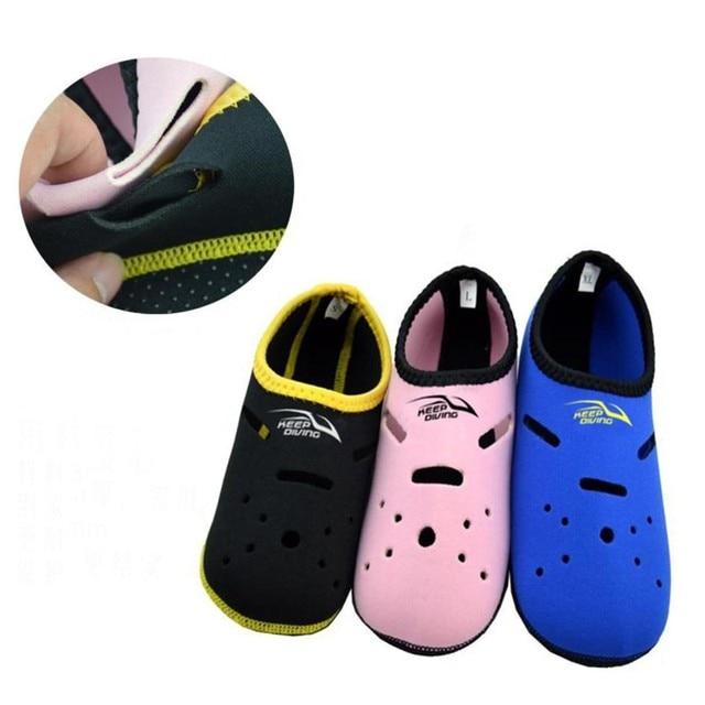 KEEP DIVING Neoprene Short Beach In Fins Flippers Non-slip Antiskid Scuba Dive Boots Wetsuit Snorkeling Shoes