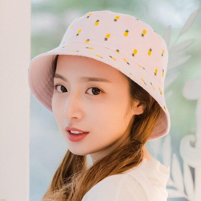 Women Sun Hat Pineapple...