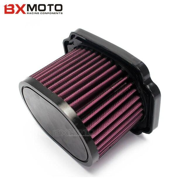 Elemento de filtro filtro de reemplazo del filtro de aire de la motocicleta para yamaha mt07 mt-07 2014-2016 alta calidad
