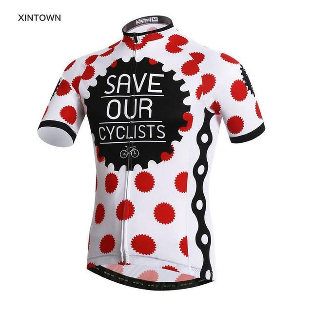 792a5fa9b New Cow spots Bike Team Mens Road Bike Cycle Clothing Short Sleeve Cycling  Jersey Shirt Tops Bike Sportswear ropa ciclismo