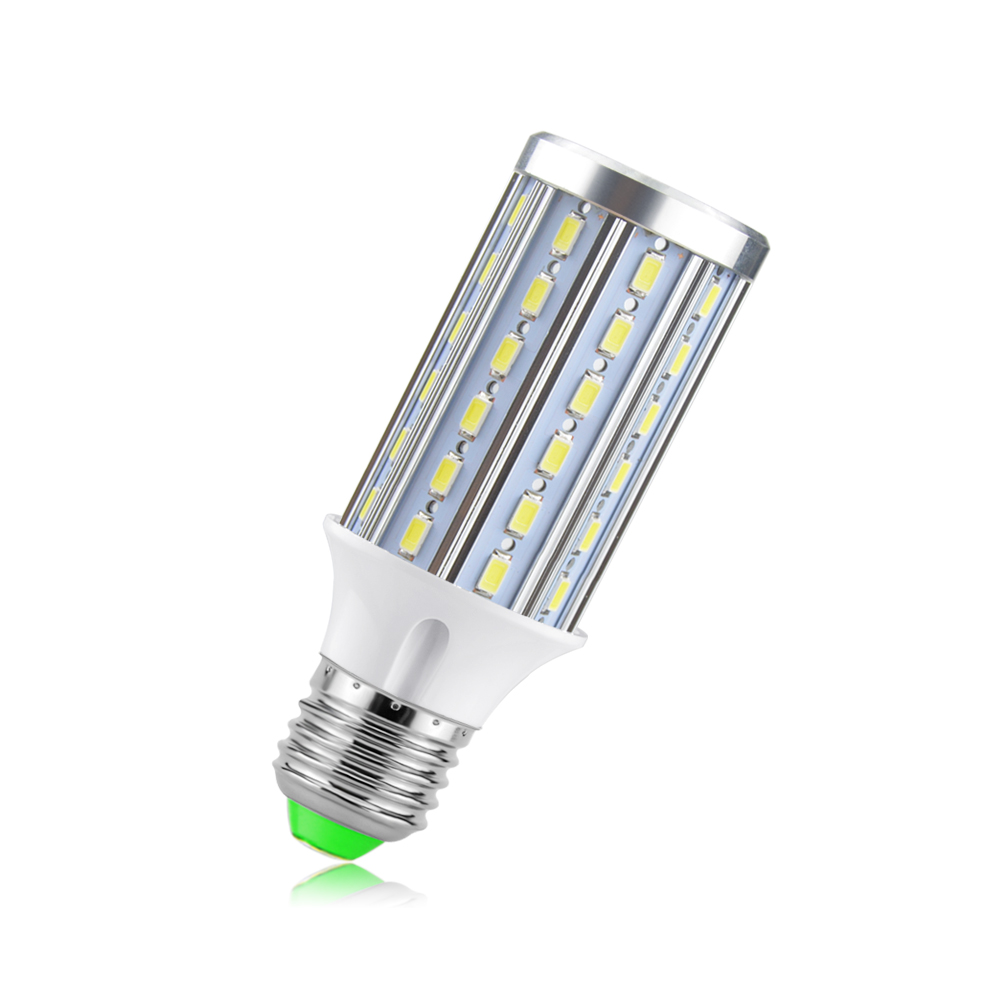 E27 E14 No Flicker Led Corn Lamp 15W Full Watt AC85-265V SMD5730 60LEDs Aluminum PCB Cooling Bulb Home Indoor Light &Lighting