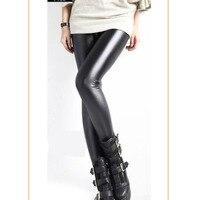 Kadın moda faux deri tayt faux kürk lining ile, çok iyi esneklik yumuşak yetişkin sıkı kadın pantolon ücretsiz kargo ht100