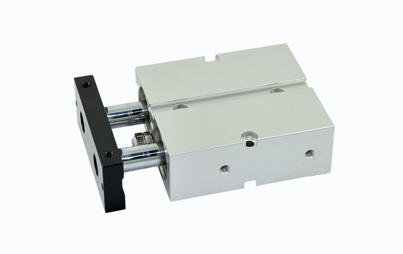 Twin Rod air cylinders dual rod pneumatic cylinder 10mm diameter 125mm stroke TN10-125 tn25 200 twin rod pneumatic cylinder gas cylinder dual rod guide air cylinder