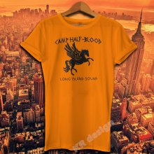 b028f80a Camp Half Blood T-shirt Percy Jackson Movie Shirt Long Island Sound Greek  Demi God